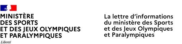 La lettre du Ministère des sports